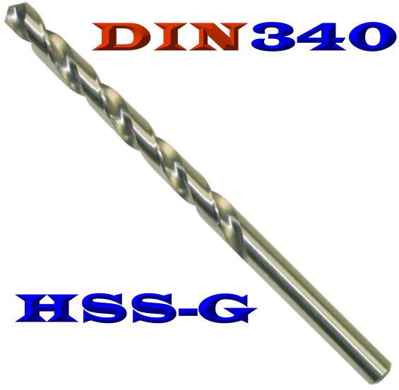 1 x DIN 340 HSS-G Spiralbohrer 8,5 mm Metallbohrer HSSG geschliffen EXTRA LANG